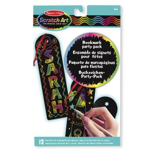Melissa Doug scratch art bookmarks
