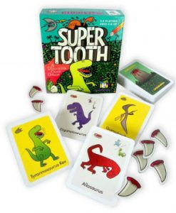 Gamewright Super tooth Game