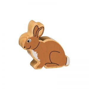 lanka kade natural painted wooden rabbit