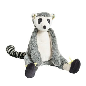 moulin roty stuffed lemur soft toy