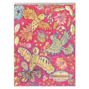 eeboo golden birds sketch book