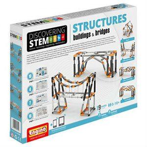 engino stem buildings and bridges
