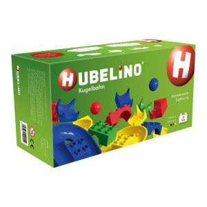 hubelino 33 piece track element add on expansion duplo compatible toyville bristol