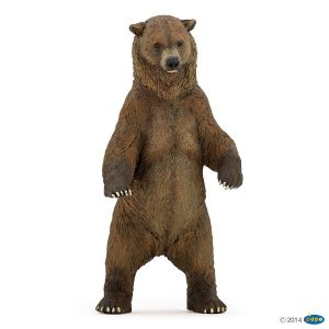 papo grizzly bear 50153