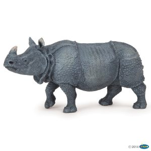 papo indian rhinoceros 50147