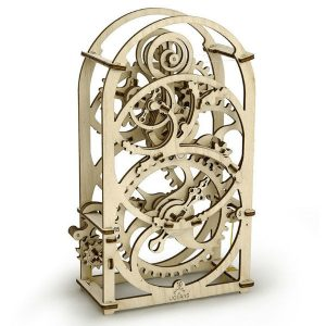 ugears wooden ply building kit chronograph timer