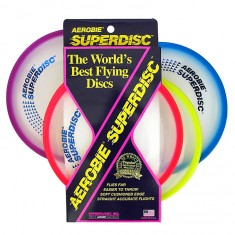 aerobie superdisc frisbee flying disc