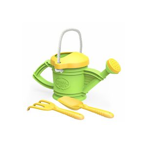 green toys recycled plastic water can tool set