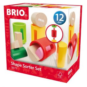 brio shape sorter set