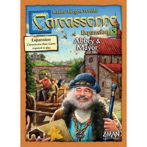 z man games carcassonne abbey and mayor expansion