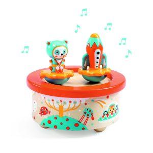 djeco DJ06052 space melody music box
