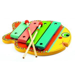 Djeco DJ06001 Animambo Wooden Xylophone Fish