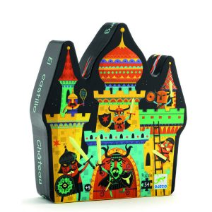 Djeco DJ07258 Fortified Castle Puzzle