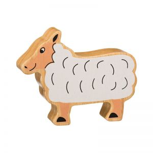 lanka kade natural wooden painted sheep
