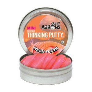 crazy aarons mini thinking putty neon flash