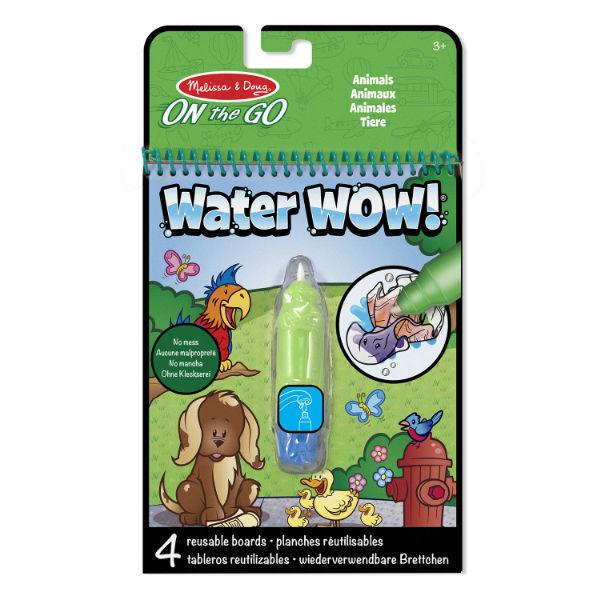 Melissa Doug water wow animals