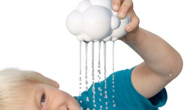 Child with Plui rain cloud