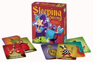 Gamewright sleeping queens game