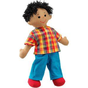 lanka kade vs41 large boy rag doll brown skin