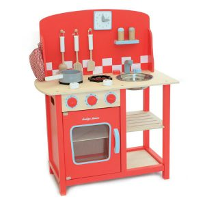 Indigo Jamm Wooden Kitchen Kitchenette Diner