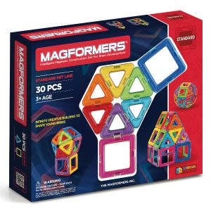 magformers bristol magnetic construction toy 30 piece set