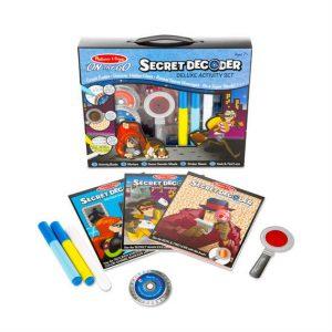 melissa doug secret decoder deluxe activity set