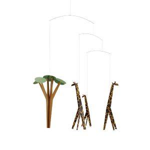 Flensted Giraffes On The Savannah Mobile 2