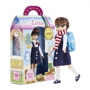 School Days Lottie Doll