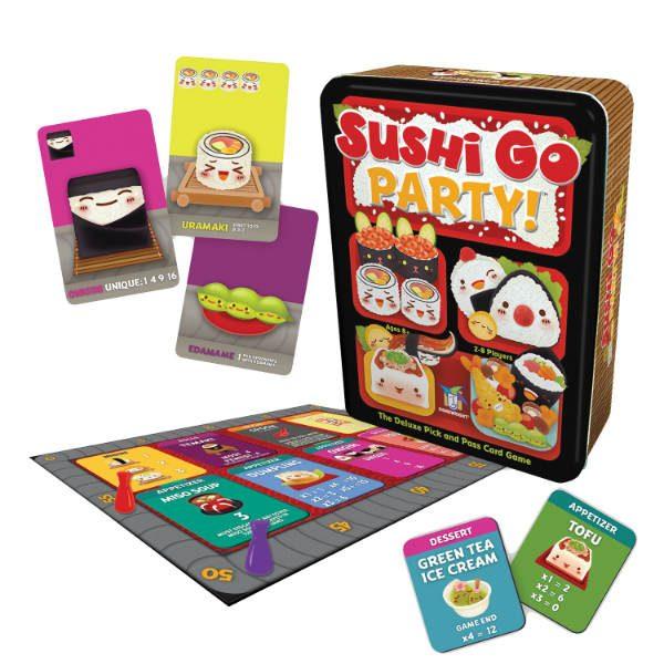 gamewright sushi go party bristol toyville
