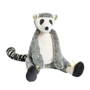 moulin roty stuffed lemur soft toy