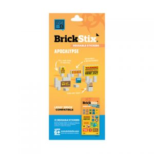 brickstix reusable stickers apocalypse