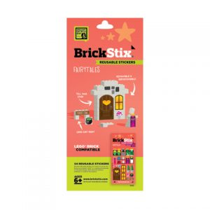 brickstix reusable stickers fairytales