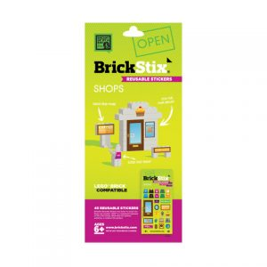 brickstix reusable stickers shops