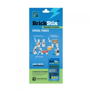 brickstix reusable stickers specialforces