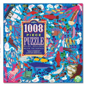 eeboo below the surface 1008 piece jigsaw puzzle