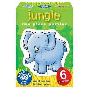 orchard toys jungle two piece  jigsaw puzzles