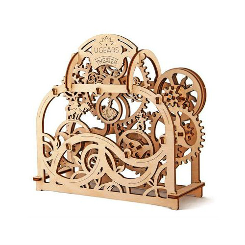 ugears wooden ply building kit moving theatre