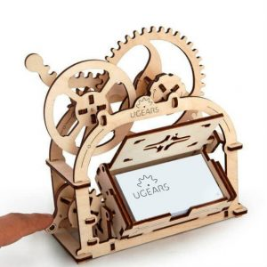 ugears wooden ply building kit treasure box