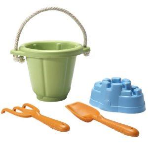 green toys sand play set bucket spade