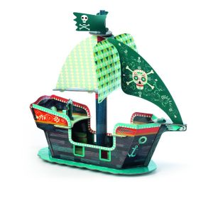 Djeco Pirate Ship Pop to Play