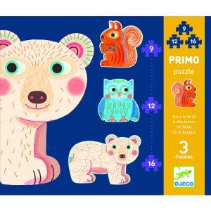 Djeco Progressive Puzzle Forest