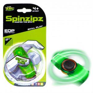 zing spinzipz green fidget spinner toyville bedminster bristol