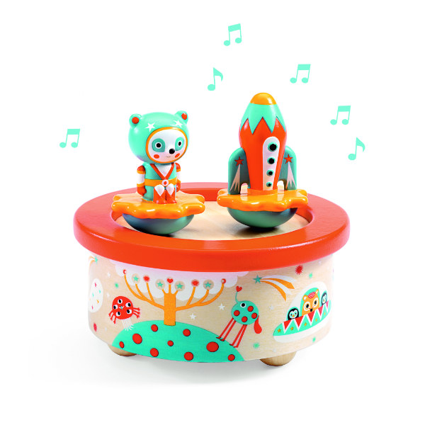 djeco DJ06052 space melody music box