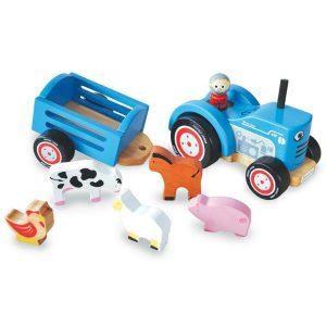 indigo jamm tractor tim wooden tractor