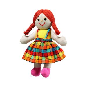 lanka kade vs34 small rag doll red hair