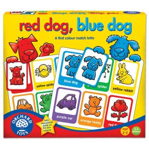 orchard toys red dog blue dog game