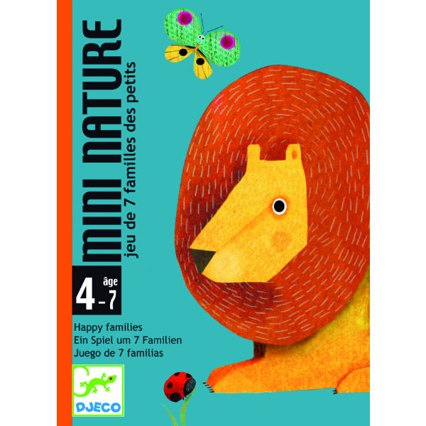 Djeco DJ05128 Mini Nature Card Game