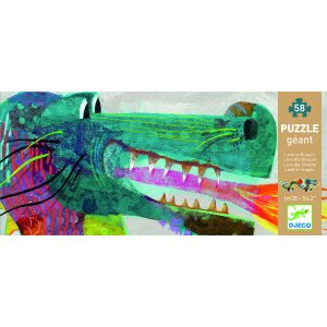 Djeco DJ07170 Giant Puzzle Leon the Dragon Box
