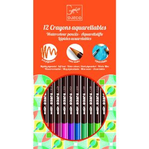 Djeco DJ08824 12 Watercolour Pencils