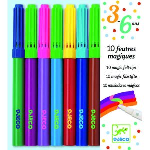 Djeco DJ08827 10 Magic Markers